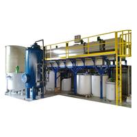 Impianti di trattamento delle acque reflue mediante processi depurativi chimico-fisico