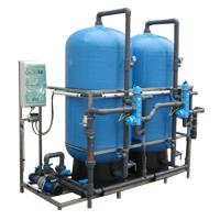 Impianti di filtrazione dell' acqua ad uso potabile o industriale