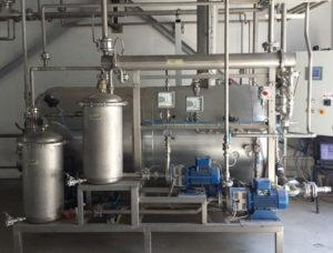 colonna di distillazione per solventi EDF400