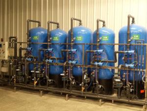 Demineralizzatore a resine