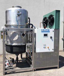 Evaporatore sottovuoto - Vacuum evaporator EV100