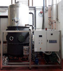 vacuum evaporator chromating line